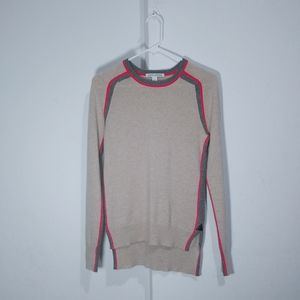 Autumn Cashmere sporty slouchy sweater 100% pure c